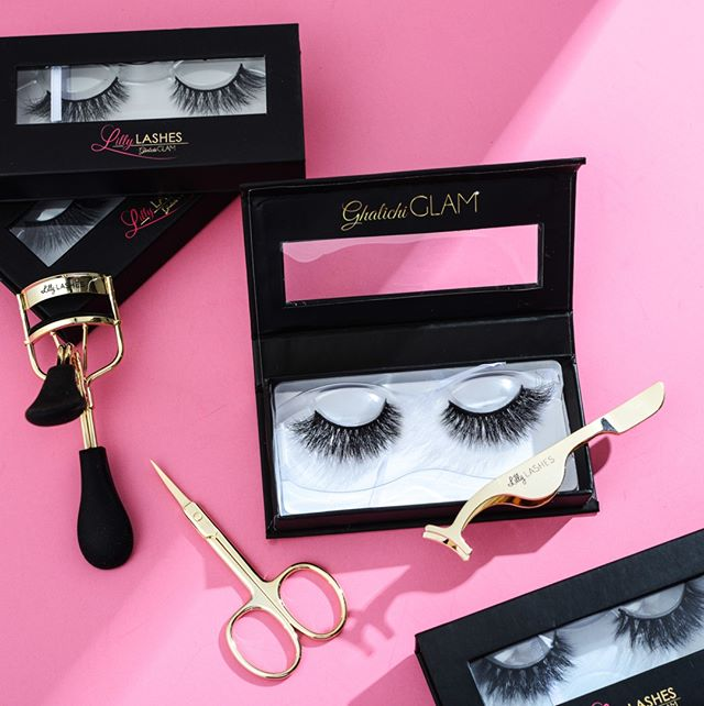 APPLICATEUR FAUX CILS ROSE GOLD - LILLY LASHES
